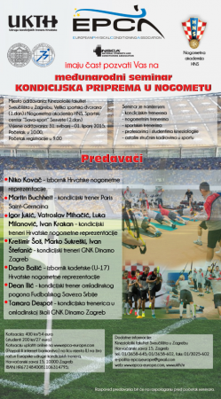 international seminar: Physical Conditioning in Football